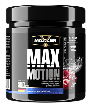 Max Motion Sour Cherry- 500 g