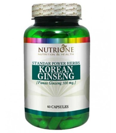 Korean Ginseng 450 mg- 60 kapsula