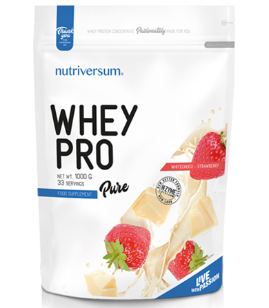 Pure Whey Pro White Chocolate-Strawberry- 1000 g