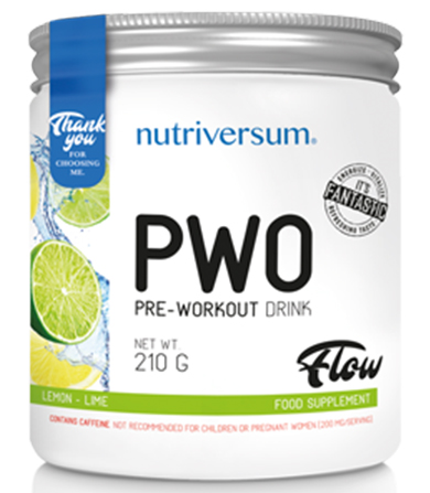 PurePro PWO Lemon-Lime- 210 g