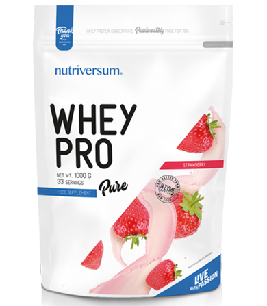 Pure Whey Pro Strawberry- 1000 g