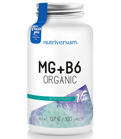 Mg Organic Plus B-6- 100 tableta