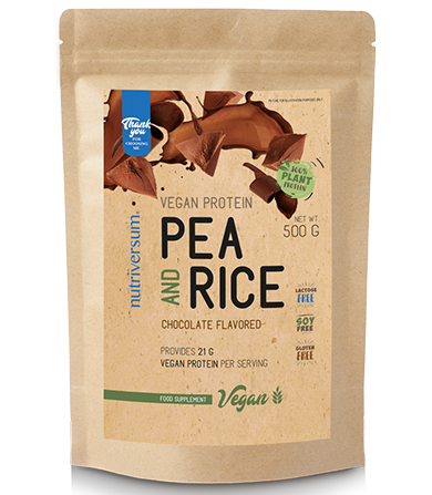 Vegan Protein Pea And Rice Chocolate- 500 g